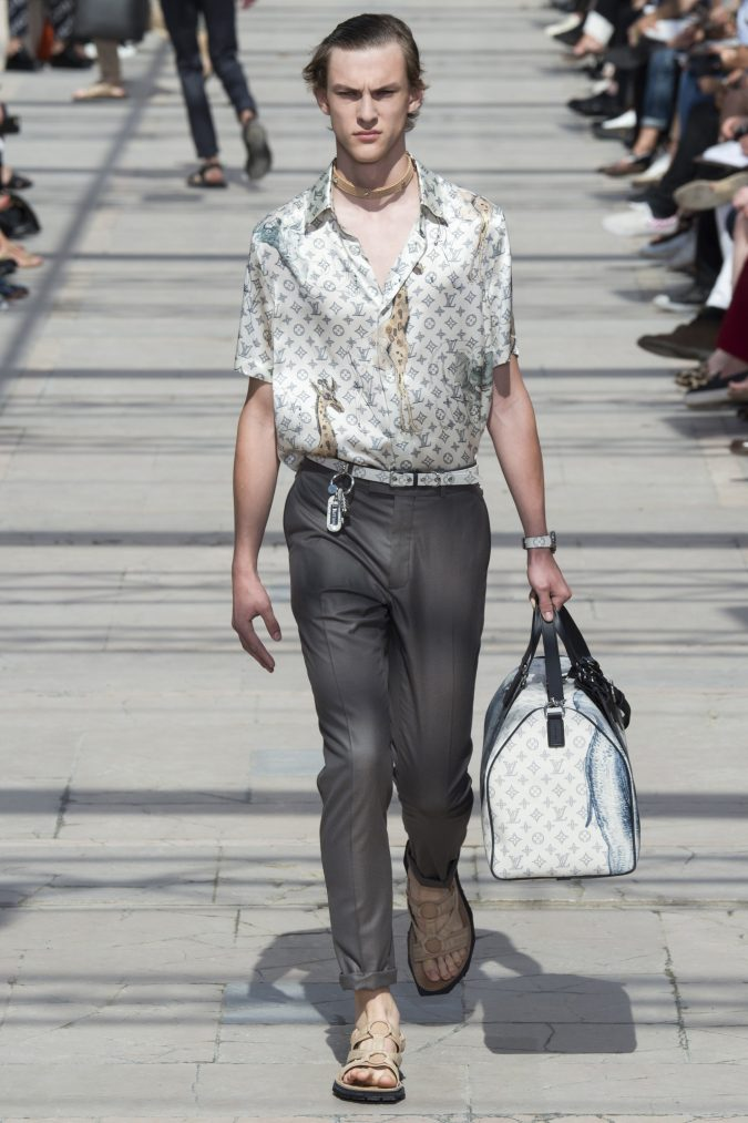 louis-vuitton-menswear-spring-summer-2017-012-675x1013 35+ Stellar European Fashions for Spring 2018