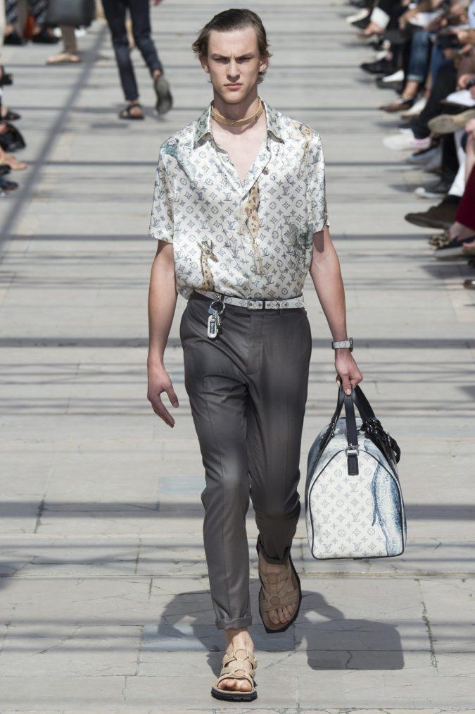 louis-vuitton-menswear-spring-summer-2017-012-675x1013 35+ Stellar European Fashions for Spring 2017