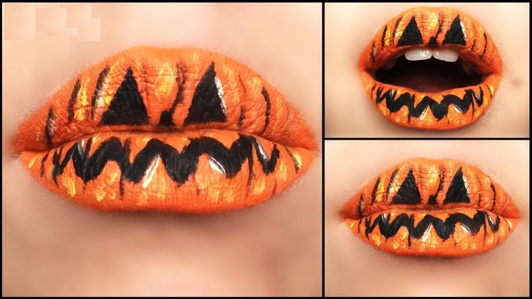 maxresdefault 16 Creative Lip Makeup Art Trends in 2019