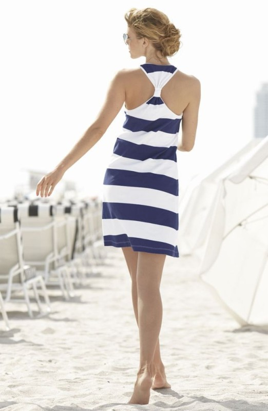 nautical-stripes-2 77+ Elegant Striped Outfit Ideas and Ways to Wear Stripes in 2018