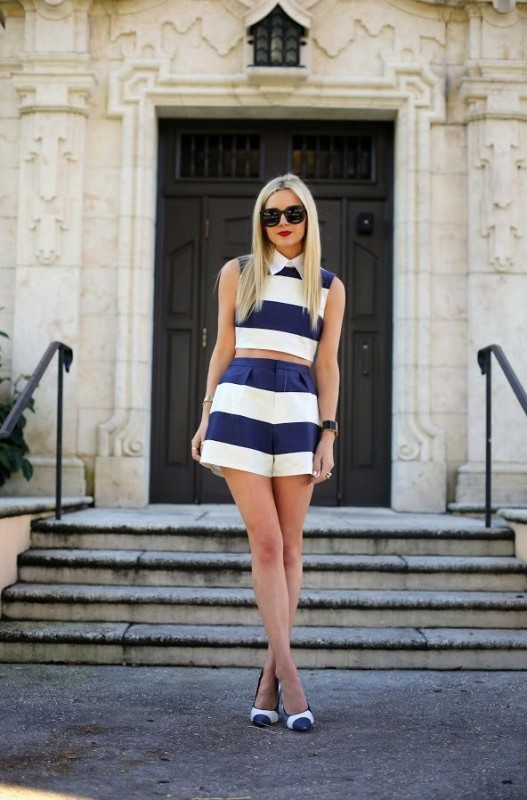 nautical-stripes-3 77+ Elegant Striped Outfit Ideas and Ways to Wear Stripes in 2018