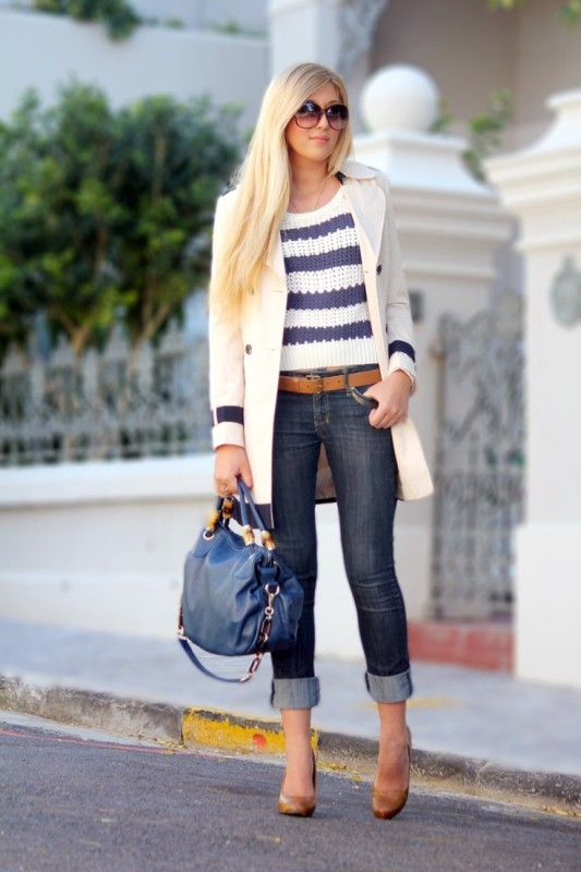 nautical-stripes-4 77+ Elegant Striped Outfit Ideas and Ways to Wear Stripes