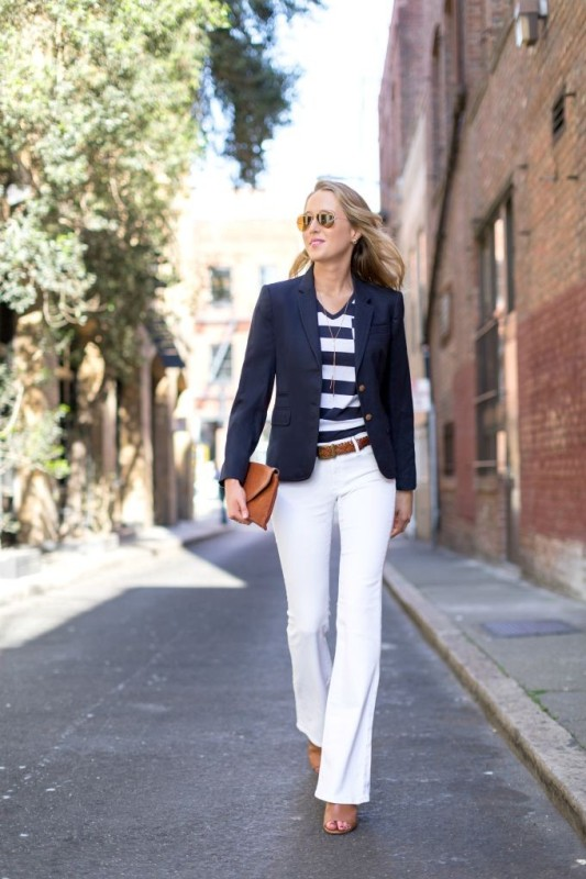 nautical-stripes-5 77+ Elegant Striped Outfit Ideas and Ways to Wear Stripes in 2018