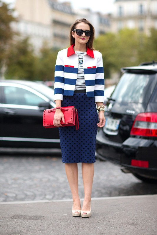 nautical-stripes-7 77+ Elegant Striped Outfit Ideas and Ways to Wear Stripes in 2018