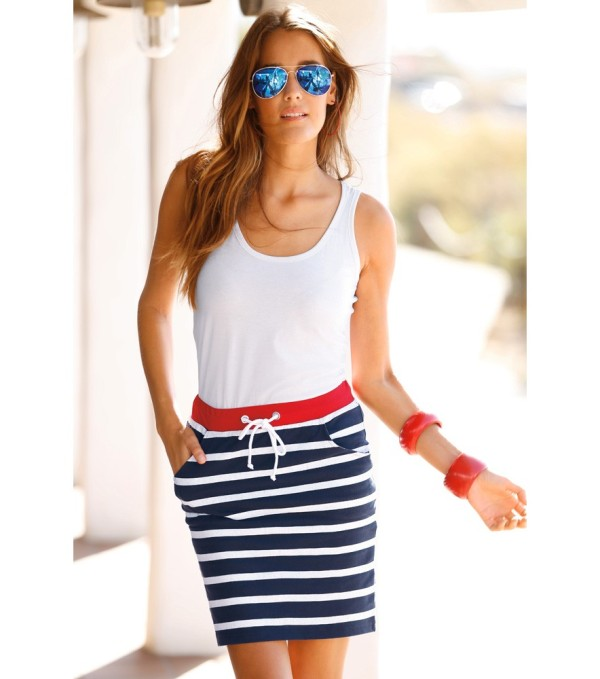 nautical-stripes-9 77+ Elegant Striped Outfit Ideas and Ways to Wear Stripes in 2018