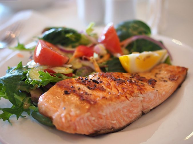 salmon-dish-food-meal-46239-e1487785223839-675x506 How To Get Ripped fast with the Atkins Diet