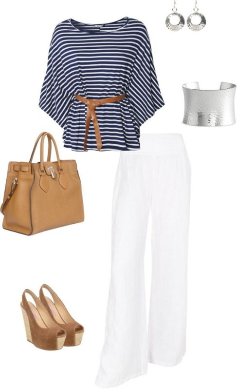 striped-outfit-ideas-10 89+ Awesome Striped Outfit Ideas for Different Occasions