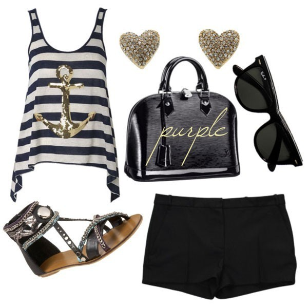 striped-outfit-ideas-107 89+ Awesome Striped Outfit Ideas for Different Occasions