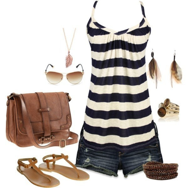 striped-outfit-ideas-109 89+ Awesome Striped Outfit Ideas for Different Occasions
