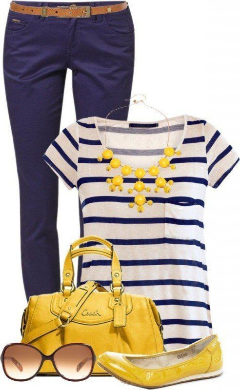 striped-outfit-ideas-11 89+ Awesome Striped Outfit Ideas for Different Occasions