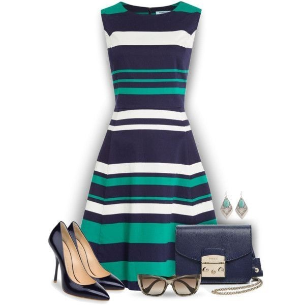striped-outfit-ideas-124 89+ Awesome Striped Outfit Ideas for Different Occasions
