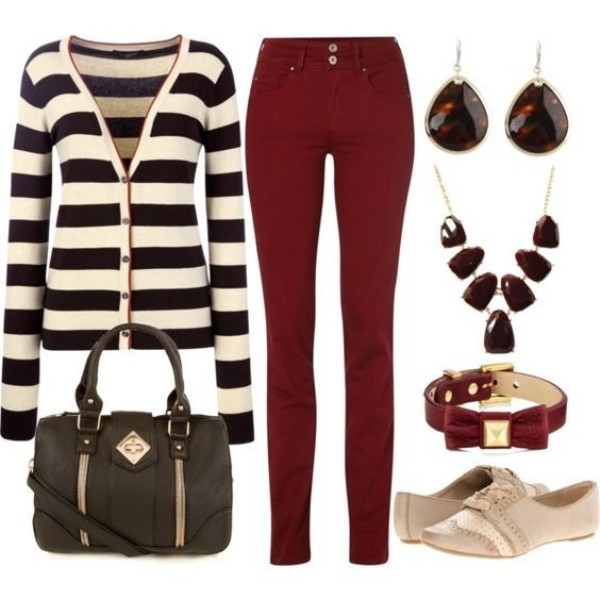 striped-outfit-ideas-130 89+ Awesome Striped Outfit Ideas for Different Occasions