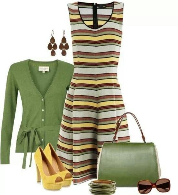 striped-outfit-ideas-138 89+ Awesome Striped Outfit Ideas for Different Occasions