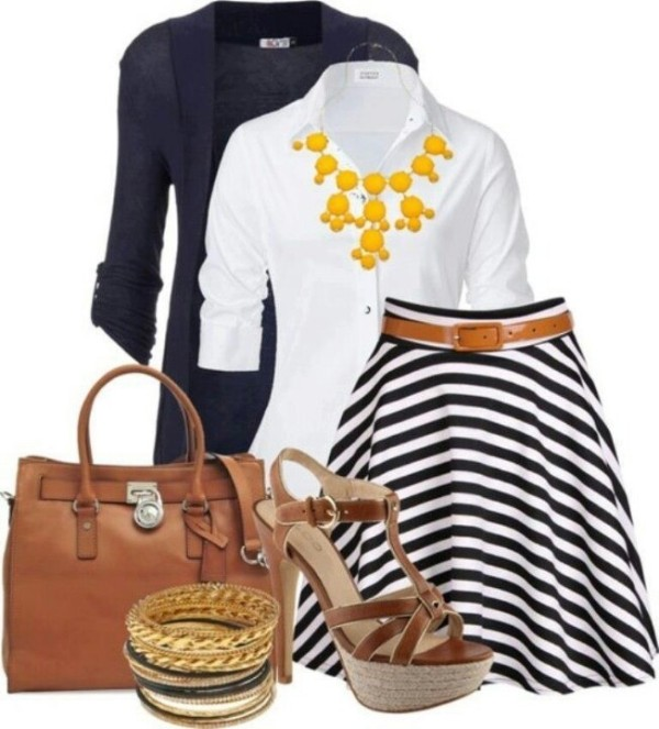 striped-outfit-ideas-139 89+ Awesome Striped Outfit Ideas for Different Occasions