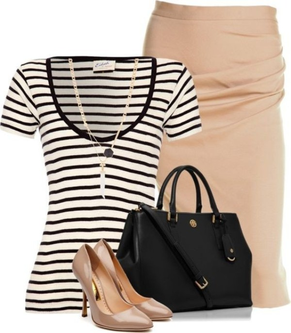 striped-outfit-ideas-141 89+ Awesome Striped Outfit Ideas for Different Occasions