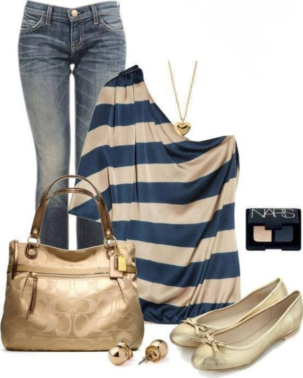striped-outfit-ideas-147 89+ Awesome Striped Outfit Ideas for Different Occasions