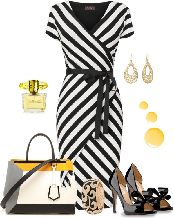 striped-outfit-ideas-148 89+ Awesome Striped Outfit Ideas for Different Occasions
