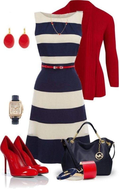 striped-outfit-ideas-15 89+ Awesome Striped Outfit Ideas for Different Occasions
