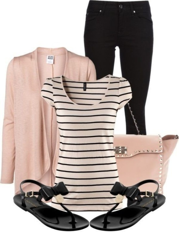 striped-outfit-ideas-158 89+ Awesome Striped Outfit Ideas for Different Occasions