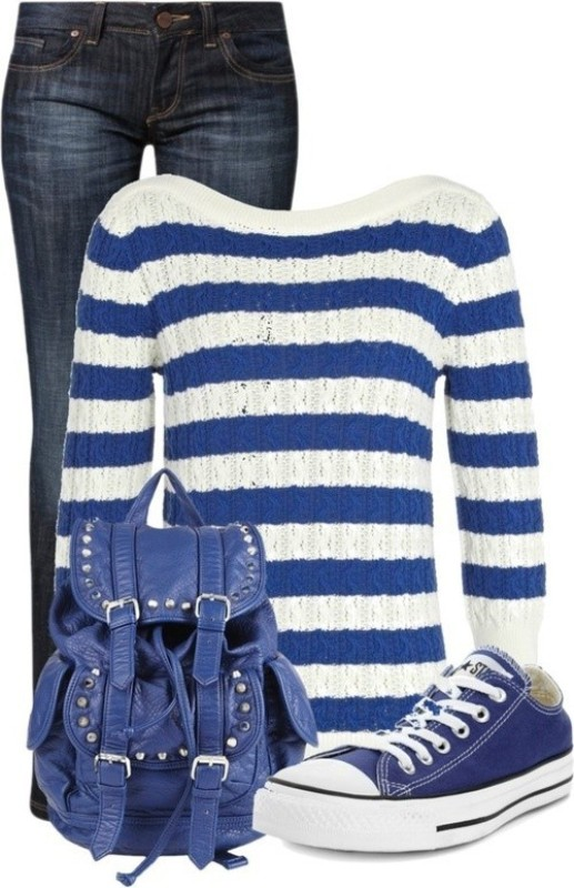 striped-outfit-ideas-19 89+ Awesome Striped Outfit Ideas for Different Occasions