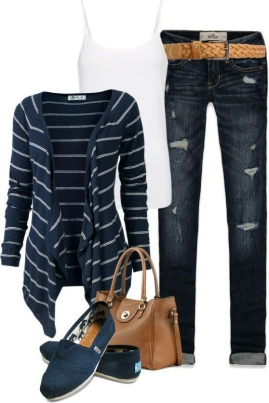 striped-outfit-ideas-23 89+ Awesome Striped Outfit Ideas for Different Occasions