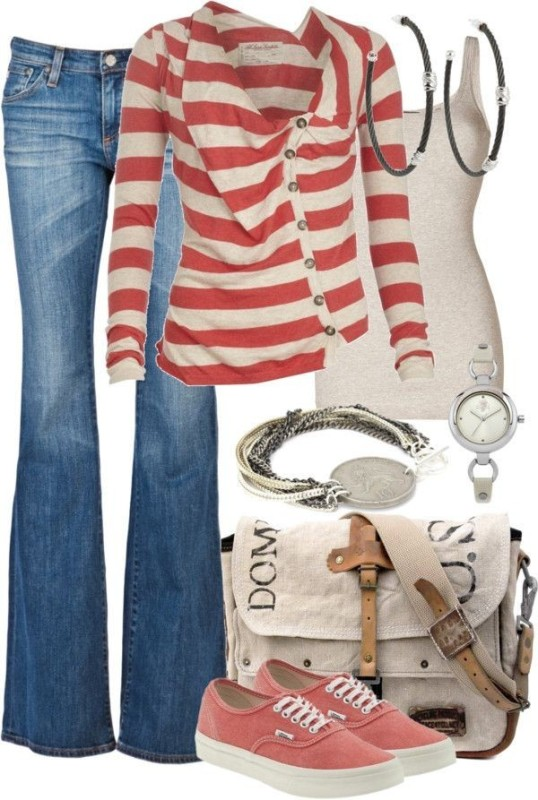striped-outfit-ideas-25 89+ Awesome Striped Outfit Ideas for Different Occasions