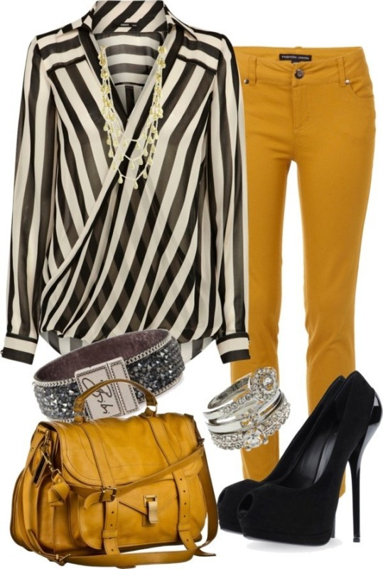 striped-outfit-ideas-27 89+ Awesome Striped Outfit Ideas for Different Occasions