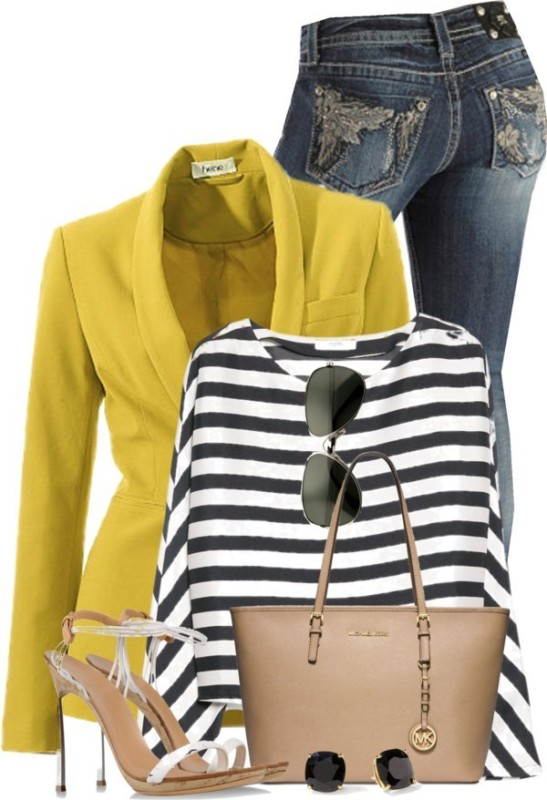 striped-outfit-ideas-29 89+ Awesome Striped Outfit Ideas for Different Occasions