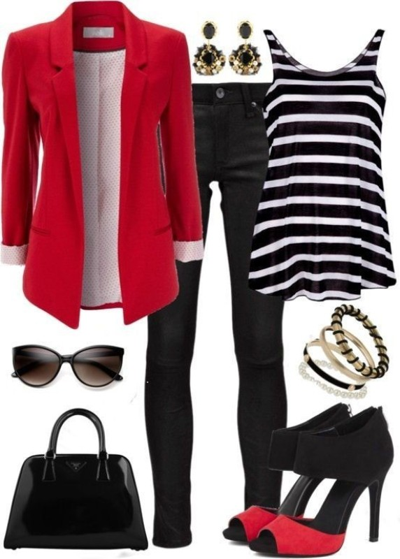 striped-outfit-ideas-33 89+ Awesome Striped Outfit Ideas for Different Occasions