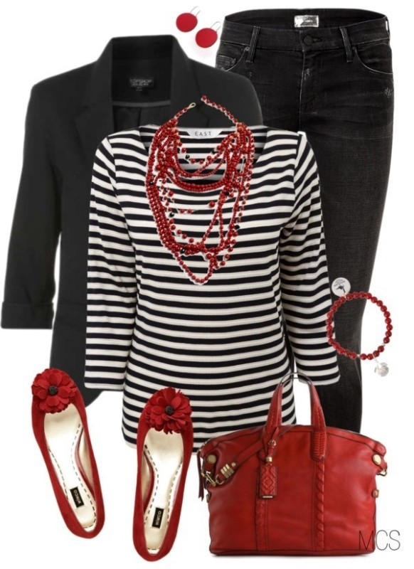striped-outfit-ideas-37 89+ Awesome Striped Outfit Ideas for Different Occasions