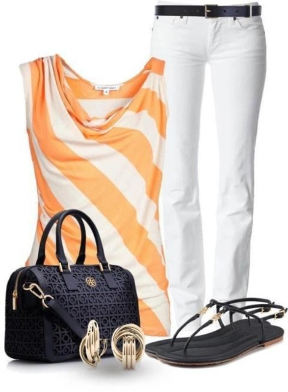 striped-outfit-ideas-39 89+ Awesome Striped Outfit Ideas for Different Occasions