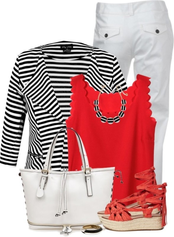 striped-outfit-ideas-40 89+ Awesome Striped Outfit Ideas for Different Occasions