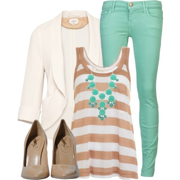 striped-outfit-ideas-60 89+ Awesome Striped Outfit Ideas for Different Occasions