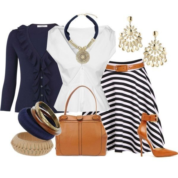striped-outfit-ideas-65 89+ Awesome Striped Outfit Ideas for Different Occasions