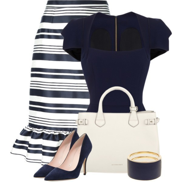 striped-outfit-ideas-97 89+ Awesome Striped Outfit Ideas for Different Occasions