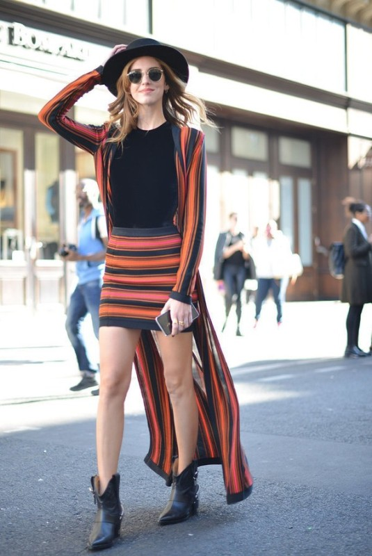 striped-outfits-10 77+ Elegant Striped Outfit Ideas and Ways to Wear Stripes in 2018