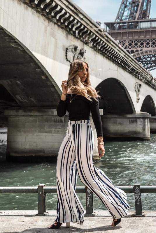striped-outfits-11 77+ Elegant Striped Outfit Ideas and Ways to Wear Stripes in 2018