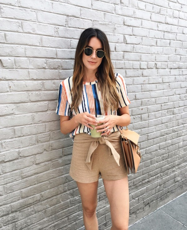 striped-outfits-18 77+ Elegant Striped Outfit Ideas and Ways to Wear Stripes in 2018