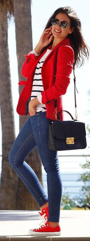 striped-outfits-2 77+ Elegant Striped Outfit Ideas and Ways to Wear Stripes