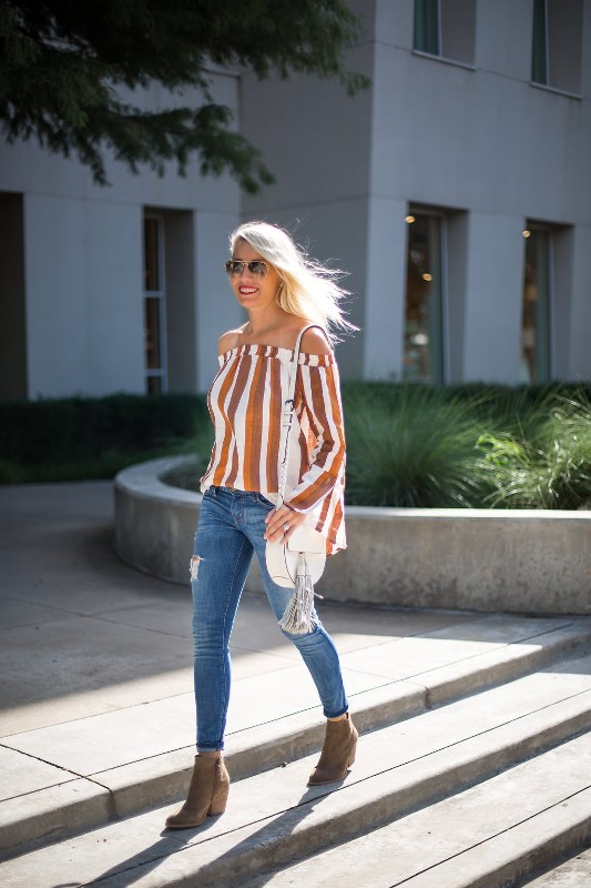 striped-outfits-5 77+ Elegant Striped Outfit Ideas and Ways to Wear Stripes in 2018