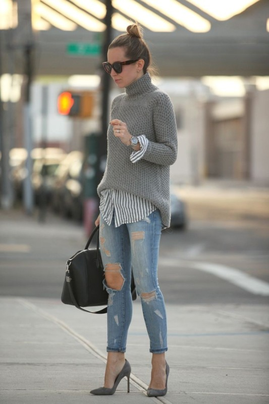 striped-outfits-6 77+ Elegant Striped Outfit Ideas and Ways to Wear Stripes