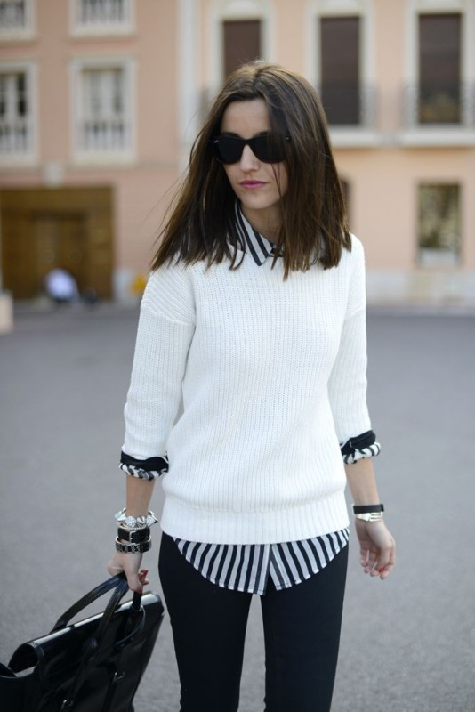 striped-outfits-8 77+ Elegant Striped Outfit Ideas and Ways to Wear Stripes
