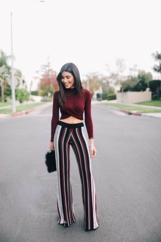 striped-outfits-9 77+ Elegant Striped Outfit Ideas and Ways to Wear Stripes in 2018