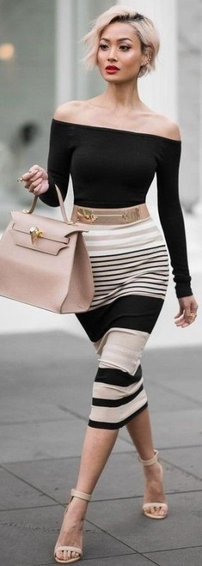 striped-outfits 77+ Elegant Striped Outfit Ideas and Ways to Wear Stripes in 2017