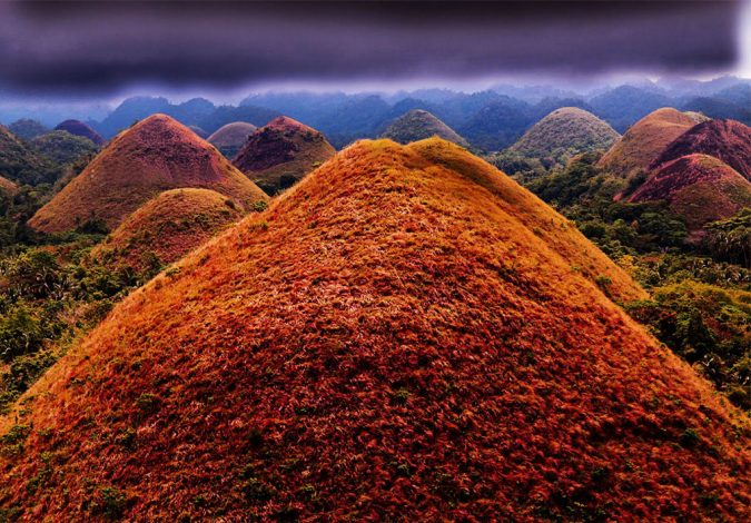 Chocolate-Hills-Philippines-675x470 Top 10 Most Attractive Places you Should Visit in Philippines