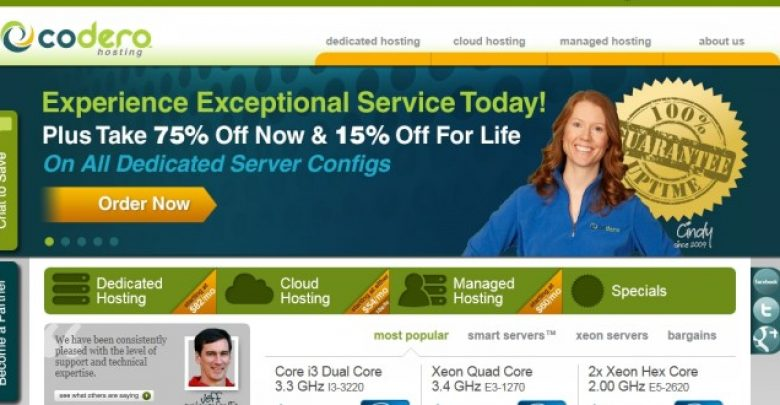 Photo of Codero Hosting Review By Trusted Hosting Professionals