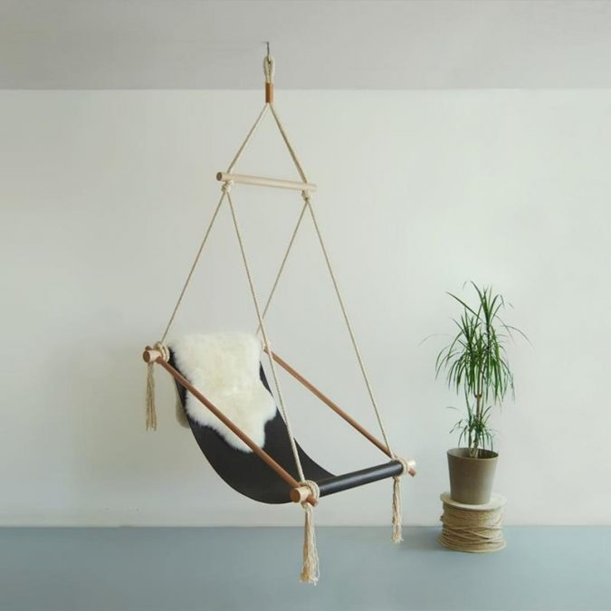 DIY-hanging-chair-LIGHTINGLighting-chairsify-com-675x675 8 Creative DIY Decor Ideas for a Fancy-looking home in 2017