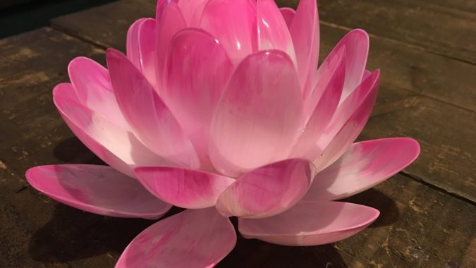 DIY-lotus-flower-2-675x380 8 Creative DIY Decor Ideas for a Fancy-looking home in 2017