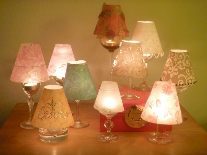 DIY-wine-lamps-675x506 8 Creative DIY Decor Ideas for a Fancy-looking home in 2017