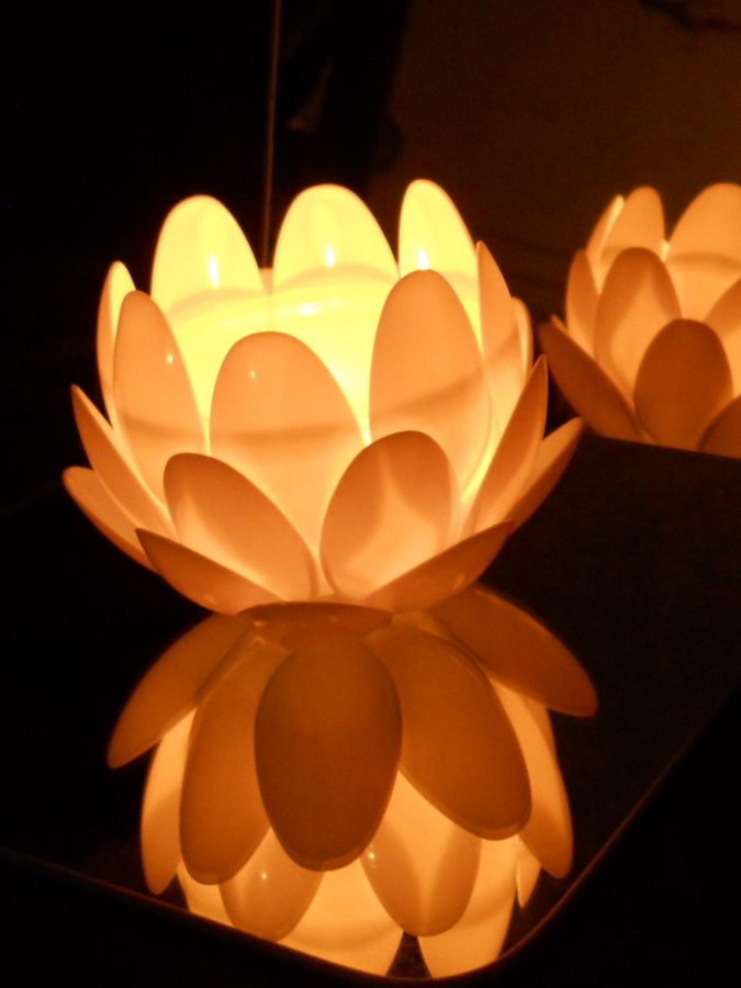 Diy-lotus-flower-675x900 8 Creative DIY Decor Ideas for a Fancy-looking home in 2018